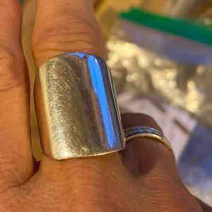 Silpada flat out ring.